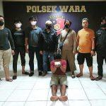 Gabungan Polsek Wara dan Jatanras Lutim menangkap seorang pelaku pencurian di beberapa tempat salah satunya di lutim, Jum'at (25/6/21).