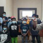Polres Luwu Timur memberikan arahan kepada orang tua dan anak yang melakukan prank call center 110 di Mapolres Luwu Timur. (Ket foto: Tribun news.com)