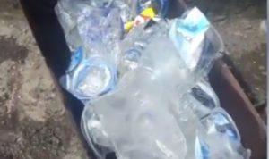 Limbah Plastik yang akan di daur ulang menjadi paving block